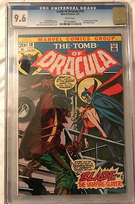Tomb of Dracula 10 CGC 9.6 White Pages (Key Bronze 1st Appearance Blade)