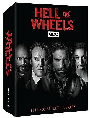 Hell on Wheels Season One-Five 1-5 Complete Series Boxset (17-Disc, 2016) 12345