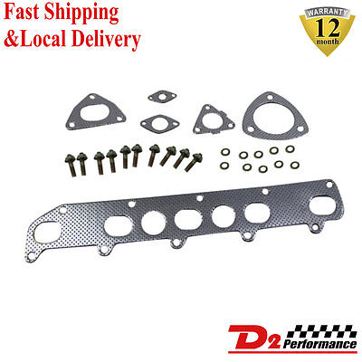 D2P Exhaust Manifold Gasket Stud &Nuts For Land Rover Discovery 2 Defender TD5