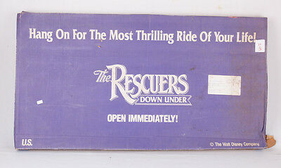NEW IN BOX The Rescuers Down Under Standee Movie Display, Disney, Promo Kit