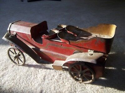 1909 toy steel car.  Model T  Packard Stutz Cadillac Chevy????? Pat. number 2709
