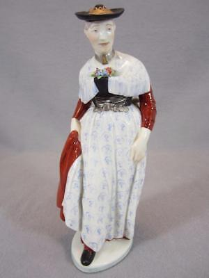 Nymphenburg Porcelain Lady from Miesbacherin Figurine - Handpainted - 831