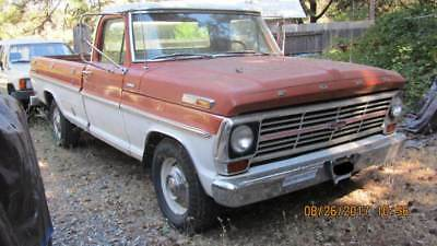 1969 Ford F-100 Ranger 1969 Ford F100, original paint, no rust ever California truck