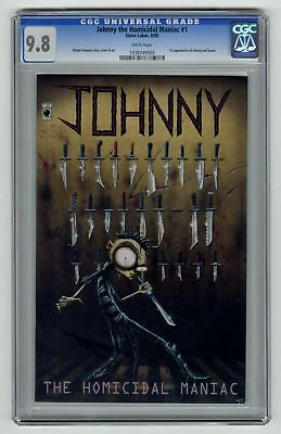 Johnny The Homicidal Maniac #1 CGC 9.8 Slave Labor Comic 1st App Johnny & Squee