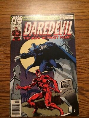 Daredevil 158 VF First Frank Miller Art 1979 Classic Complete