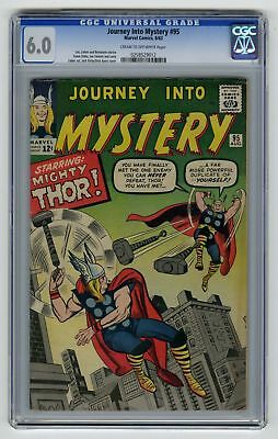 Journey into Mystery #95 CGC 6.0 ORIGINAL OWNER Marvel Comic Clone Cover VINTAGE