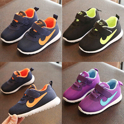 Kid Boys Girls Child Sports Running Breathable Sneakers Baby Infant Casual Shoes