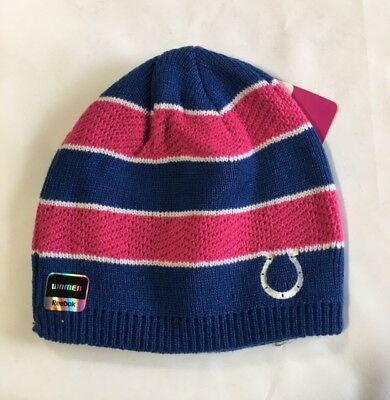 Indianapolis Colts Knit Beanie Winter Hat Toque Skull Cap NEW Pink Striped  BCA 221e041b3