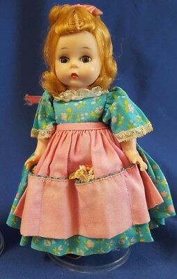 "Vintage Madame Alexander Doll 8"" Mary Mary 1965-72 BK Wendy Ann Storybook"