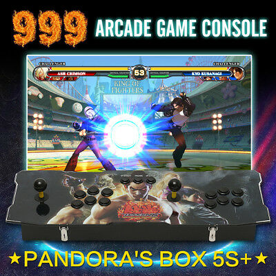 999 In 1 Arcade Games Console Pandora's Box 5S+ Fighting Game Gamepad Xmas Gift
