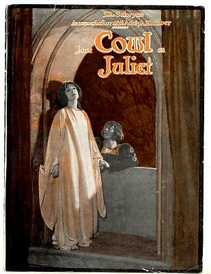 """1924 Jane Cowl """"romeo And Juliet"""" Post-Broadway Tour Brochure The Selwyns"""