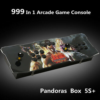 999 All In 1 Pandora's Box 5S+ Arcade Games Console Fighting Game Video Gamepad