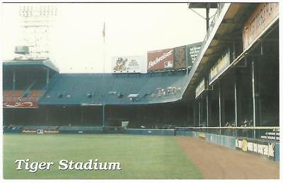 Tiger Stadium Detroit Navin Field Briggs Baseball Postcard