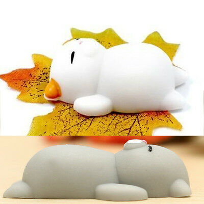 Lazy Cat Squishy Squeeze Soft Toys Stress Relief Anxiety Fidget Slow Rising Gift