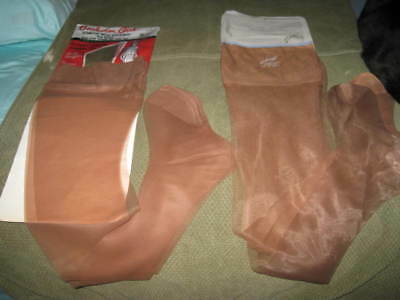Vintage Garter Style Hosiery Nylon Stockings - 6 Prs - New