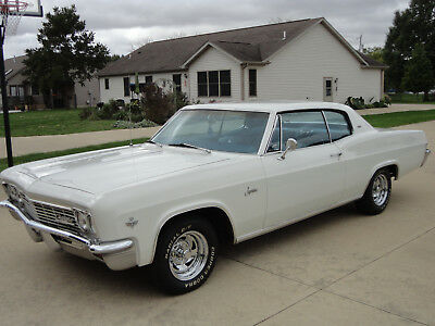 1966 Chevrolet Caprice  UPER NICE 1966 CHEVY CAPRICE SPORT COUPE-NUMBERS MATCH RBLT 327,PG,A/C75K MILES