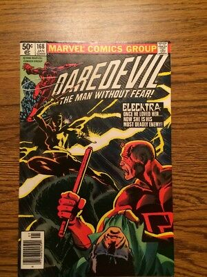 Daredevil 168 NM- Origin/First App Electra Frank Miller Classic High Grade Nice!