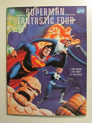 Superman / Fantastic Four ( in VF cond )