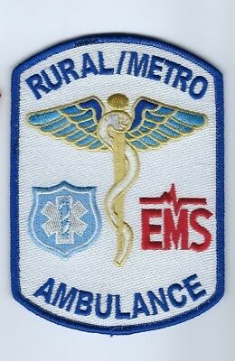 Rural / Metro EMS Ambulance patch - NEW!