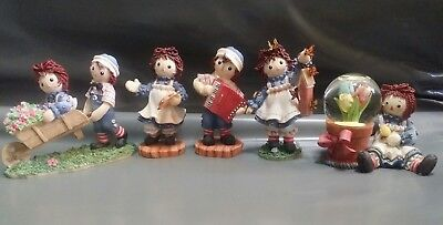 Raggedy Ann and Andy Enesco Figurines