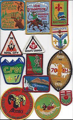 Big lot #4 Scouts Canada patches