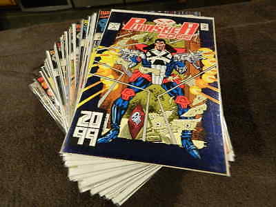 1993 MARVEL Comics THE PUNISHER 2099 #1-34 - Rare Complete Near Mint Series