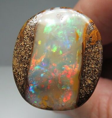 Queensland Boulder Opal Pipe 21.20ct Loose Australian Natural Stone