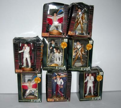 Lot Of 8 Trevco Elvis Presley Collectible Ornaments