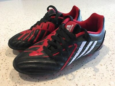 Adidas Boy's Football Boots Size US 2 UK 1.5 - Perfect Condition!!