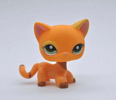 CAT SHORT HAIR Littlest Pet Animal child girl boy figure loose cute LPS809