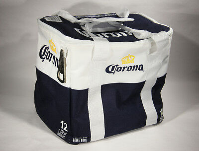 L001666 CORONA EXTRA 12 Beer Bottles Cooler With Opener / NEW !