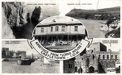 Lorne House, Castletown, I.o.m. - Multi-View  Postcard