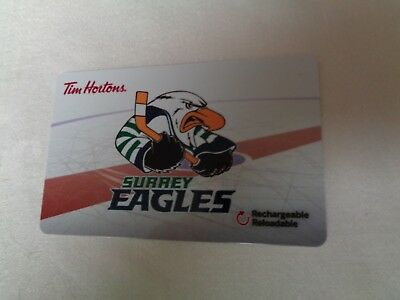 Tim Horton's  -  SURREY EAGLES (FD57112 - 2017 New, Unused