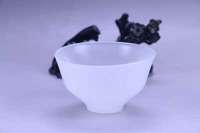 100% natural Exquisite hand carving Jade bowl x167