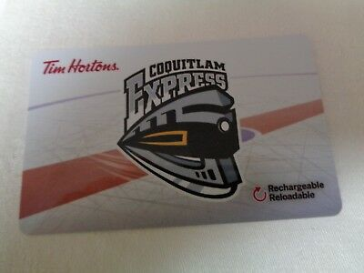 Tim Horton's  -  COQUITLAM EXPRESS (FD57089) - 2017 New, Unused