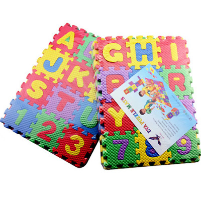36pcs/set Child EVA Foam Play Mat Alphabet Numbers GYM DIY floor tile Game