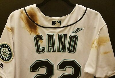 Robinson Cano 2016 Game Used Jersey (MLB AUTH)