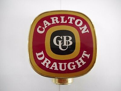 Cub Carlton Draught Advertising Beer Tap Top / Ex Hotel Stock