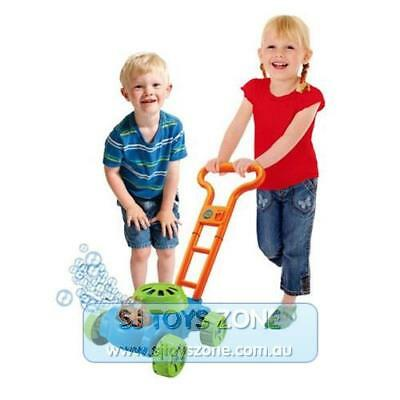 Bubble Blowing Lawn Mower Kids Pretend Play Outdoor Garden Toy