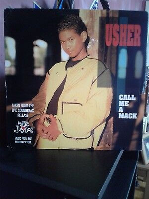 "Super-Rare Usher Vinyl Maxi-Single, ""call Me  A Mack""free Shipping Rare Item!!!@"