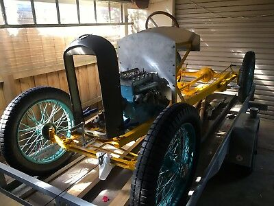 FRENCH AMILCAR 1920's VINTAGE VETERAN SPORTS CYCLE CAR ROLLING CHASSIS PROJECT
