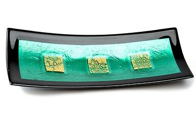 "Murano Glass Centerpiece Plate - Stefano Birello  "" Campielo Collection """