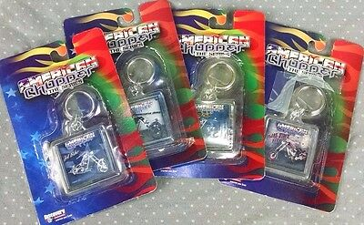 4 American Chopper The Series Key Ring Chain OCC Orange County Motorcycles
