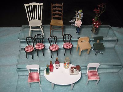 Lundby Dollhouse miniatures Mixed lot 18 pieces.