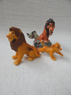 Disney The Lion King Plastic Figures/cake Decorations