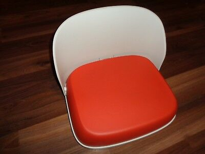 OXO Tot Perch Foldable Booster Seat for Big Kids Orange VGUC