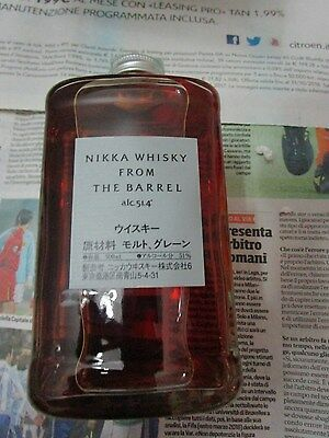 NIKKA Whisky from BARRELL CL.0,50 - VOL. 51,4% - con box