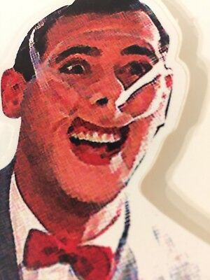 "peewee herman Sticker Decal!! 3.5""x4""  Paul Reuben's Play House Fame!"