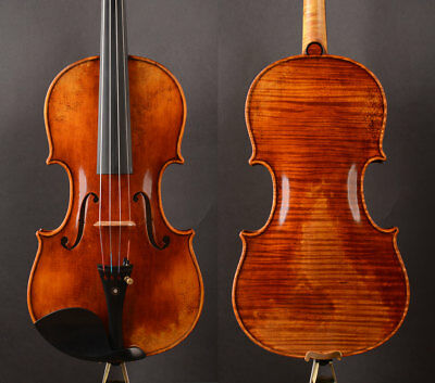 Transparent antique varnish ,A T20+ Strad model  Solo violin!strong rich clear