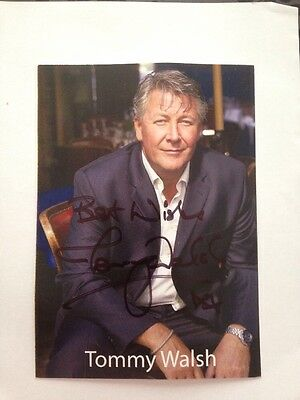 Tommy Walsh Hand Signed  Cast Card Photo